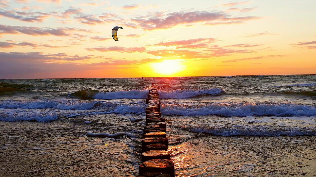 Solnedgång som omslagsbild till listan på influencers
