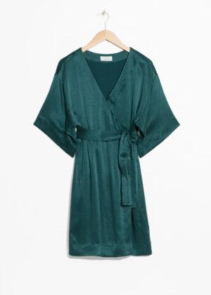 Tidlös turquoise midiklänning.