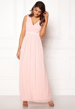 Modemedveten rosa långklänning från Chiara Forthi med dragkedja.