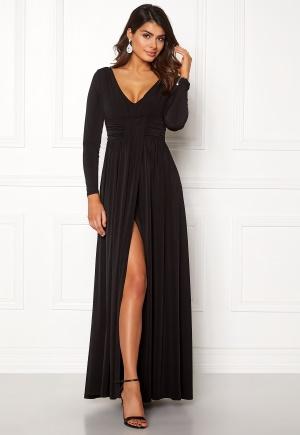 Sjukt söt svart stretchig klänning i trikå.