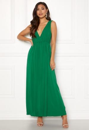 Verdant green långklänning från Ivyrevel.
