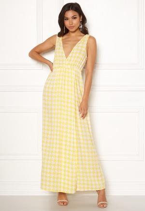 Klassisk gul långklänning från Ivyrevel.