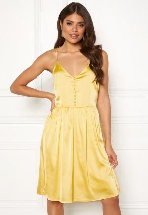 Butter klänning med dragkedja med dragkedja från Rut & Circle.