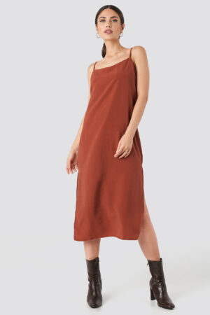 Beyyoglu Tencel Maxi dress - Red