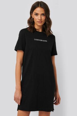 Calvin Klein T-Shirtklänning - Black
