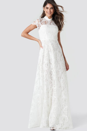 Ida Sjöstedt Siren Maxi Dress - White