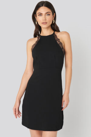 MANGO Antonia Dress - Black