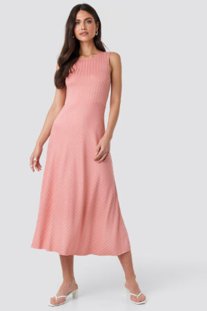 MANGO Chicle Dress - Pink