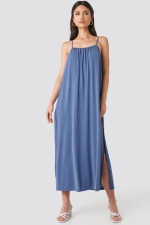 MANGO Cubi Dress - Blue