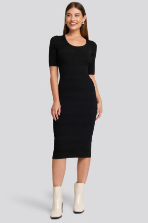 MANGO Elliot Dress - Black