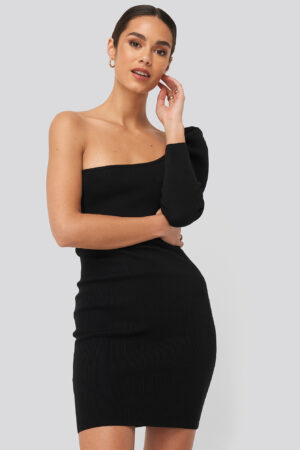 MANGO Madonna Dress - Black