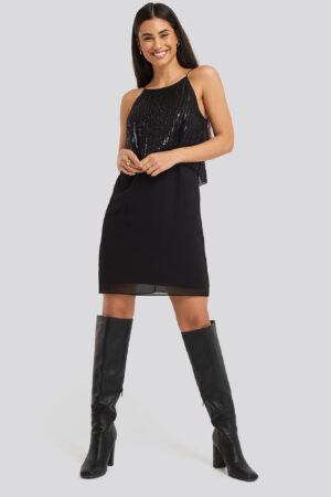 MANGO Onyx Dress - Black