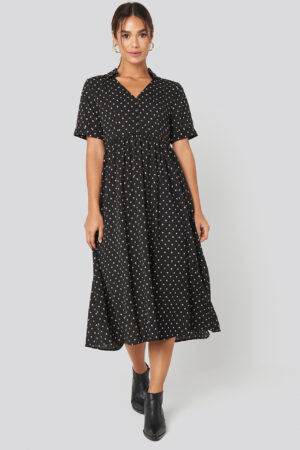 MANGO Phoebe H Dress - Black