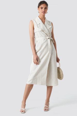 MANGO Tere Waistcoat - White