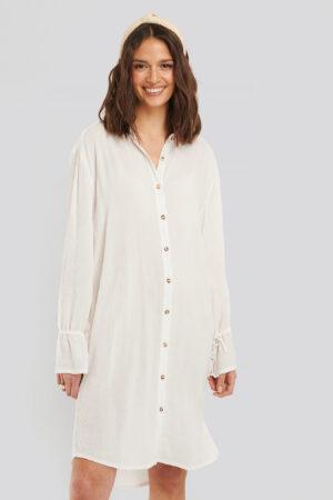 Sparkz Skjortklänning - White