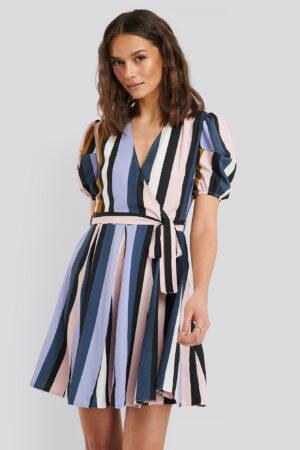 Trendyol Randig Miniklänning - Multicolor