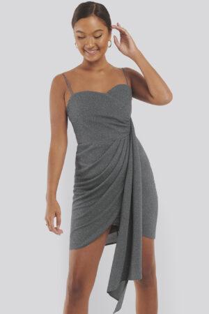 Trendyol Glittrig Miniklänning - Grey