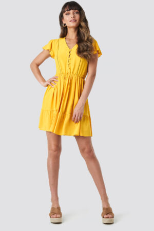 Trendyol Milla Mini Dress - Yellow