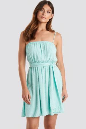 Trendyol Mini Strap Mini Dress - Blue