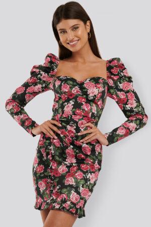 Trendyol Miniklänning Med Volangdetalj - Pink