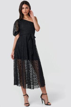 Trendyol Yol One Shoulder Dress - Black
