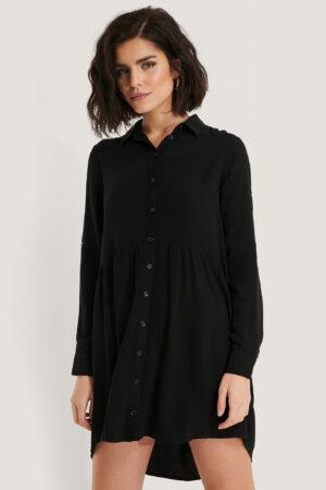 Trendyol Skjortklänning - Black