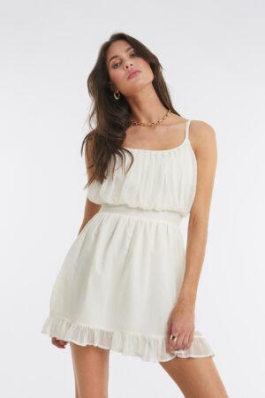 XLE the Label Elio Mini Dress - White