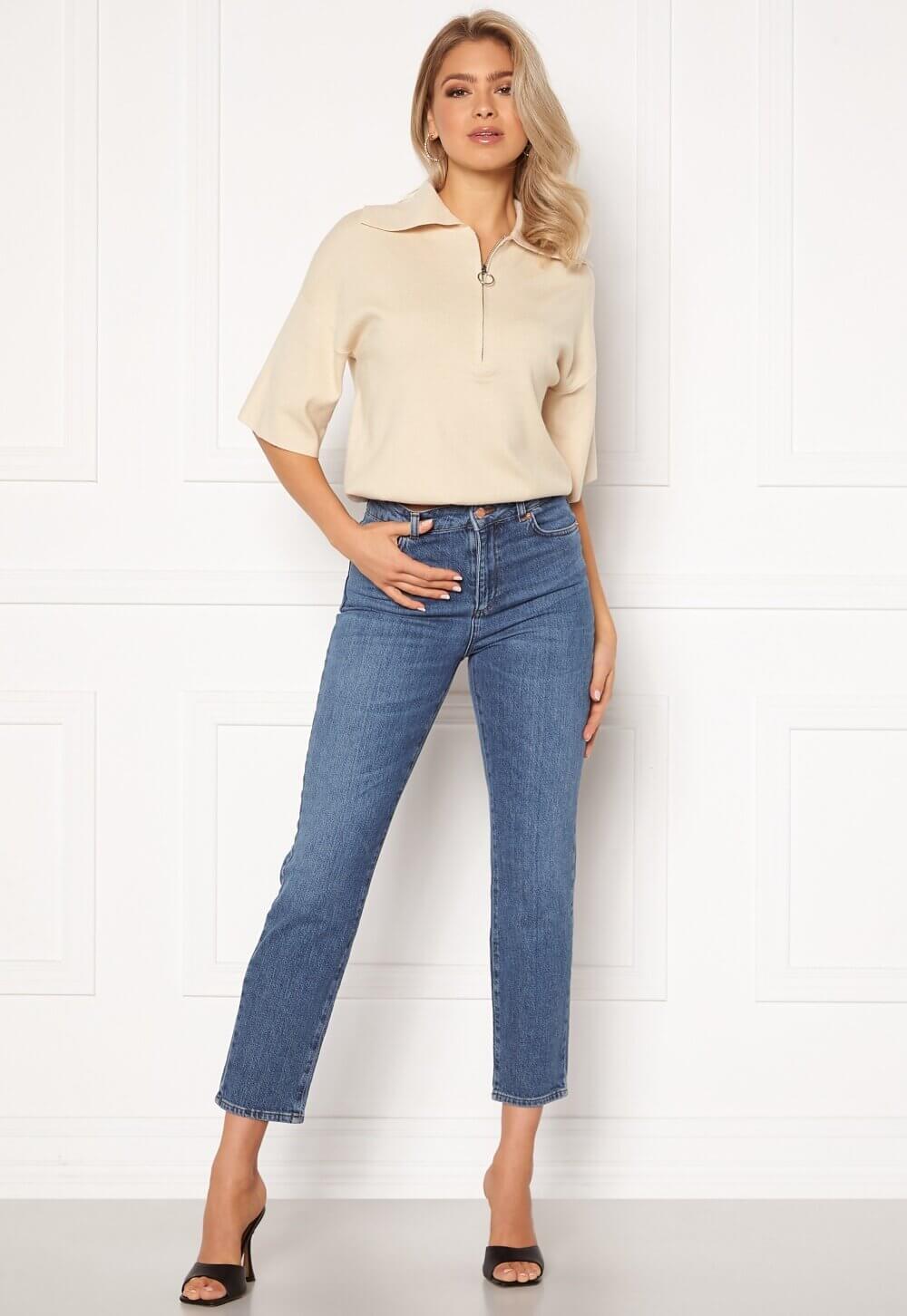 Raka korta jeans