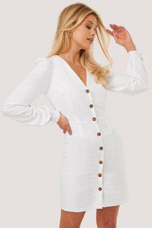Nicole Mazzocato x NA-KD Miniklänning - White