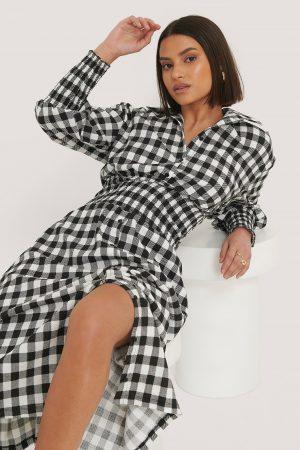 Taraneh x NA-KD Skjortklänning - Multicolor