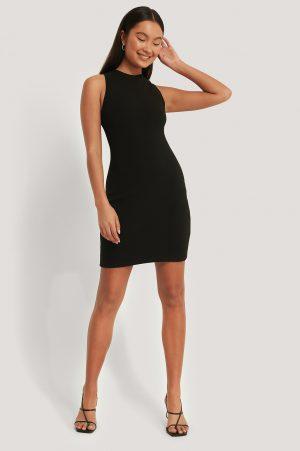 Emma Ellingsen x NA-KD Miniklänning - Black