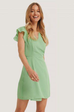 Glamorous Omlottklänning - Green