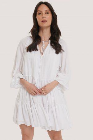 Glamorous Miniklänning - White