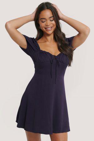 Glamorous Miniklänning - Purple