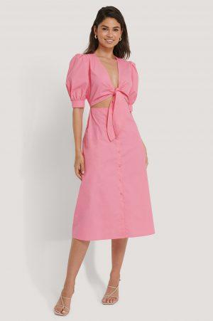 Hoss x NA-KD Klänning - Pink