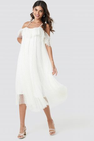 Ida Sjöstedt Elise Dress - White