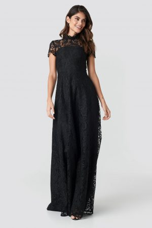 Ida Sjöstedt Siren Maxi Dress - Black