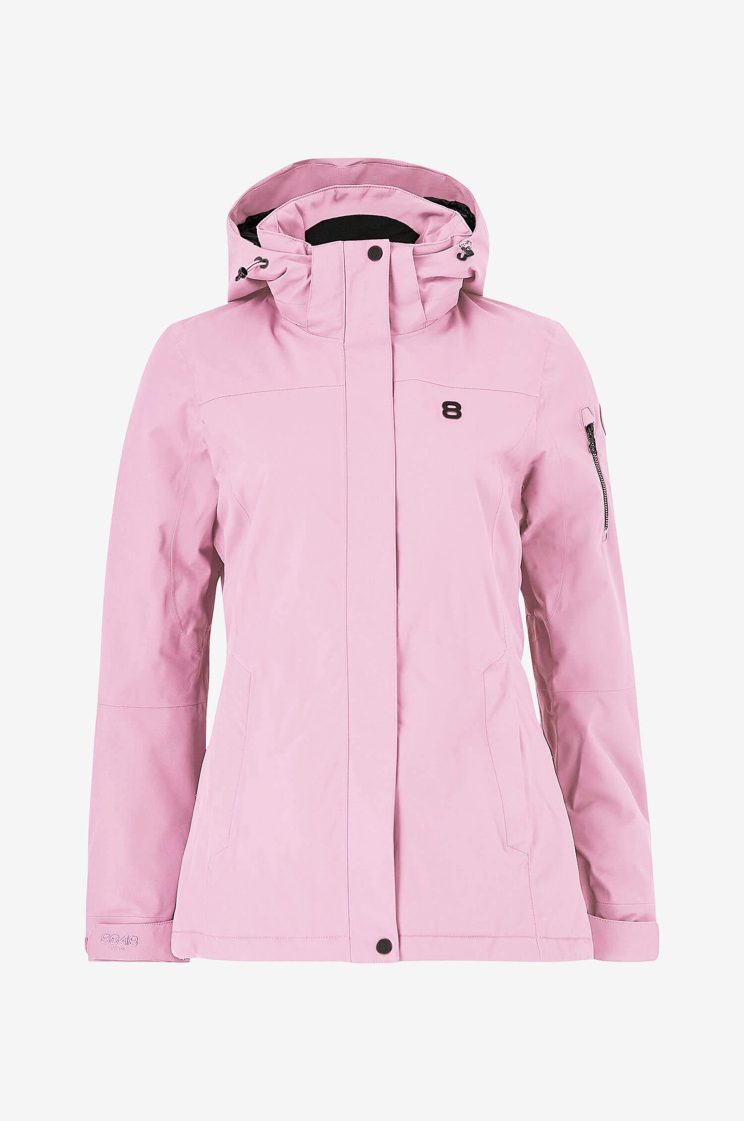 En rosa skidjacka från 8848 Altitude.