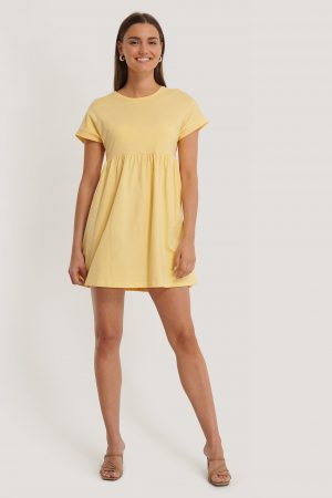 MANGO Gisele Dress - Yellow
