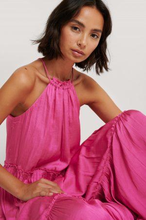 MANGO Klänning - Pink