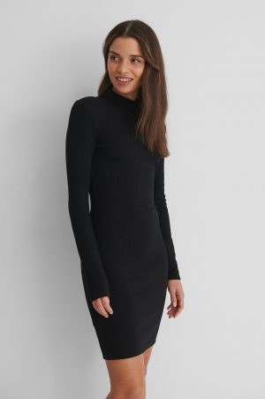 MANGO Rosario Dress - Black