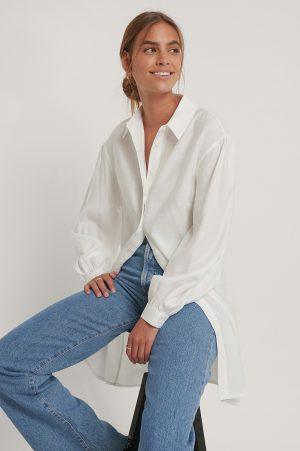 NA-KD Reborn Skjortklänning - White