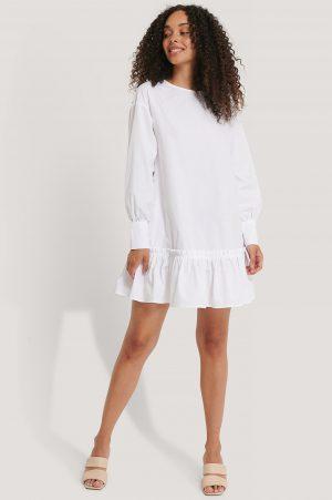 Josefin Ekström for NA-KD Tunikaklänning - White