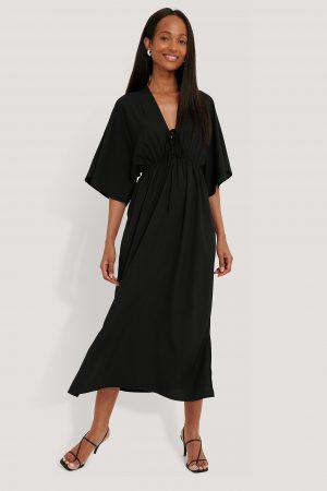 NA-KD Strandklänning - Black