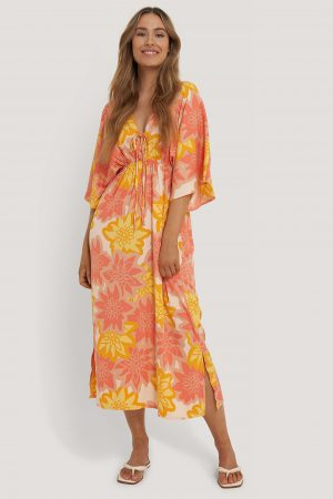 NA-KD Strandklänning - Multicolor