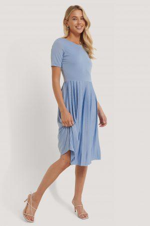 NA-KD Midiklänning - Blue