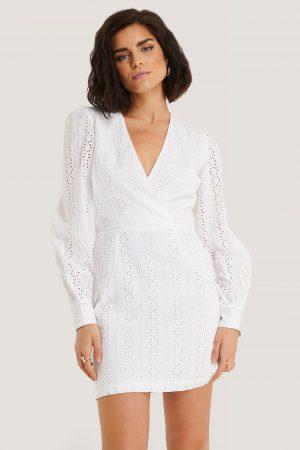 NA-KD Boho Miniklänning - White