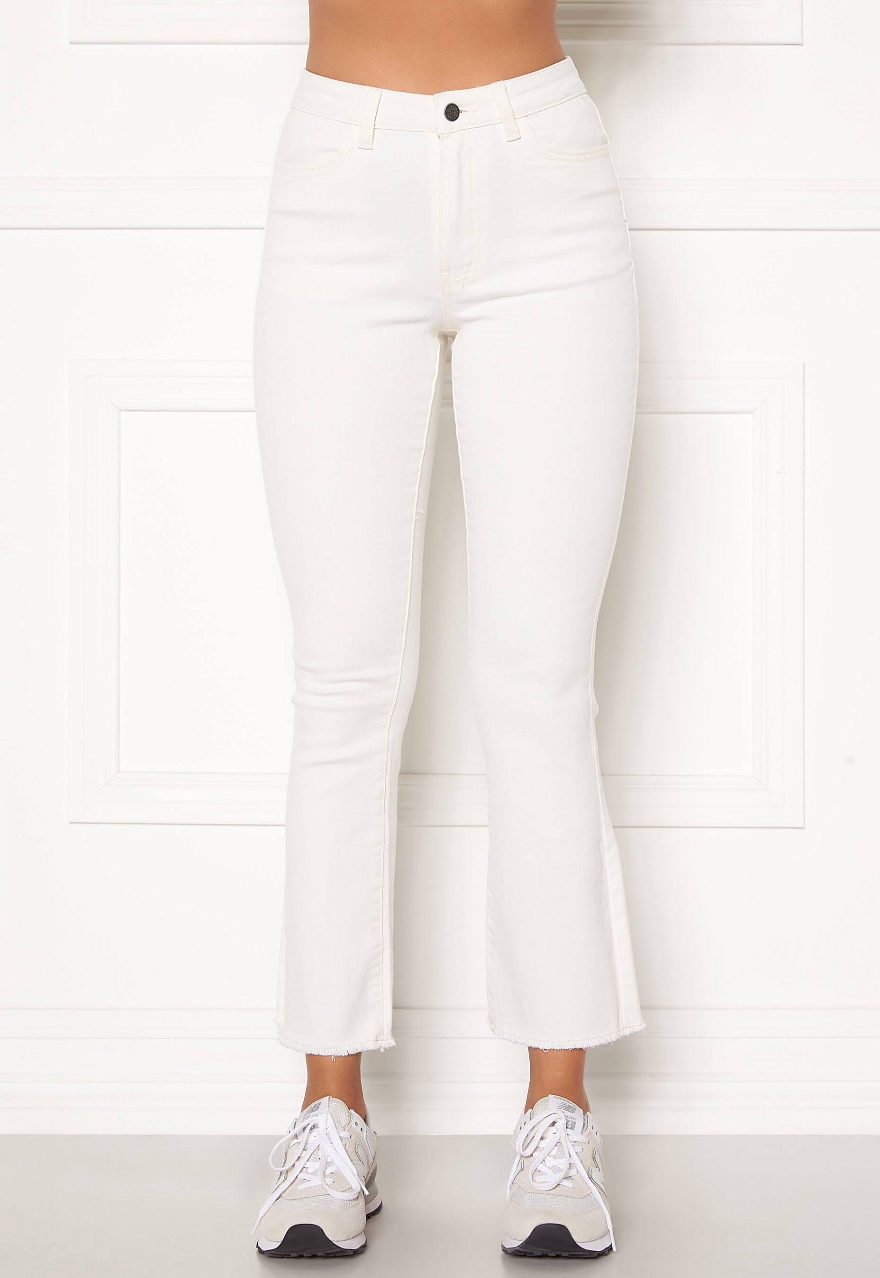 Snygga, vita jeans från OBJECT.