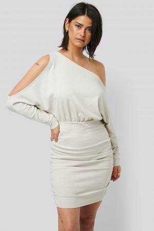 Olivia Salo x NA-KD Miniklänning - Grey
