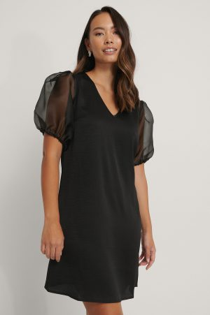 Rut&Circle Miniklänning - Black